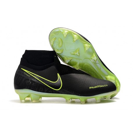 Scarpe da Calcio Nike Phantom Vision Elite FG Nero Volt