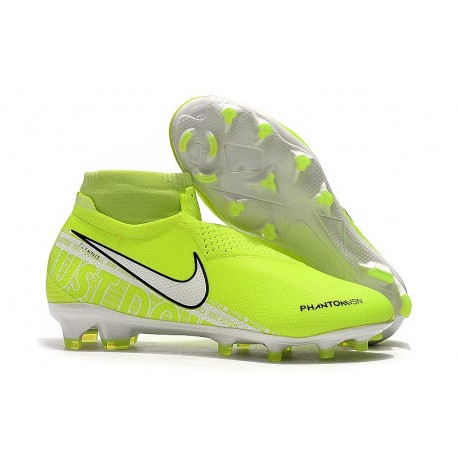 nuovi stili accogliente fresco codici promozionali Scarpe da Calcio Nike Phantom Vision Elite FG Volt Bianco