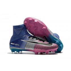 Scarpa Nike Mercurial Superfly 5 Dynamic Fit FG - Blu Rosa Nero