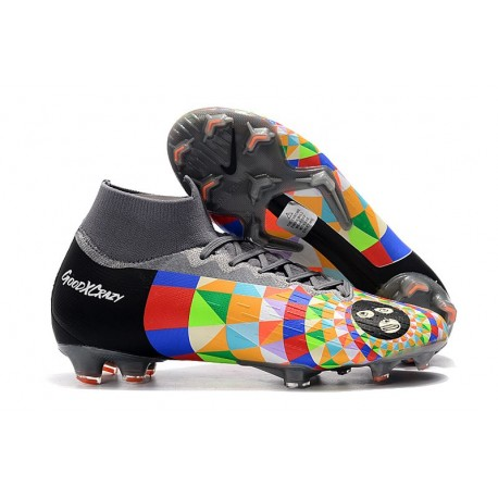 Dani Alves Nike Mercurial Superfly 6 Elite FG Nuove Scarpa