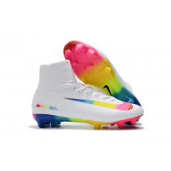 Scarpa Nike Mercurial Superfly 5 Dynamic Fit FG - Bianco Colorato