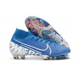 Scarpa Nike Mercurial Superfly 7 Elite FG New Lights Blu