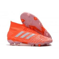 Scarpe da Calcio Adidas Predator 19.1 FG Arancio Bianco