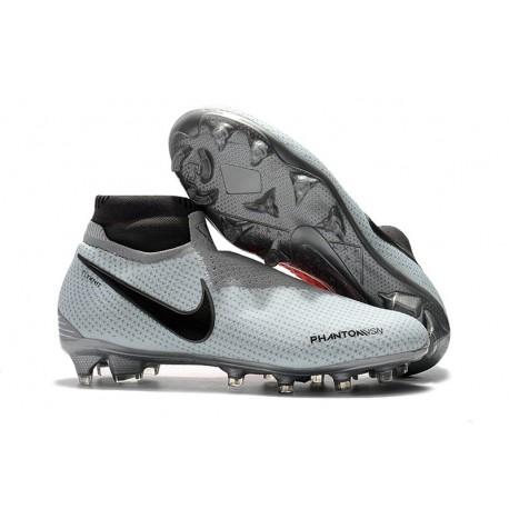 Scarpe da Calcio Nike Phantom Vision DF FG - Grigio Rosso