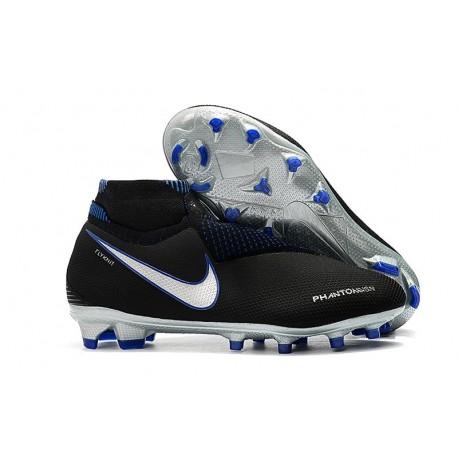 Scarpe da Calcio Nike Phantom Vision DF FG - Negro Blu