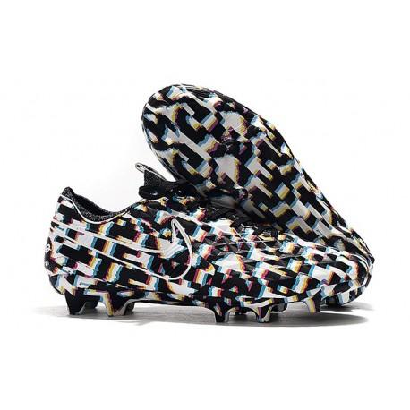 Nike Tiempo Legend 8 Elite Scarpe Uomo - Nero Bianco