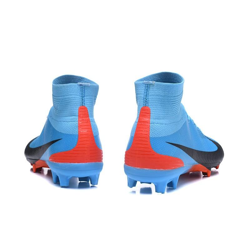 FG FG Calcio Superfly Superfly Nike da V Mercurial CR7 Nero Scarpe FG Blu  HH1w8 ae189197dca