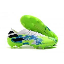 Scarpe Da Calcio adidas Nemeziz 19.1 FG - Bianco Verde