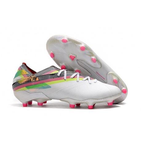 Scarpe Da Calcio adidas Nemeziz 19.1 FG - Bianco Multicolor