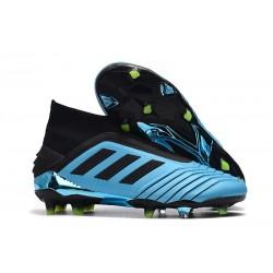 Scarpa da Calcio adidas Predator 19+ FG - Blu Nero