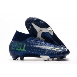 Scarpa Nike Dream Speed Mercurial Superfly 7 Elite FG Blu