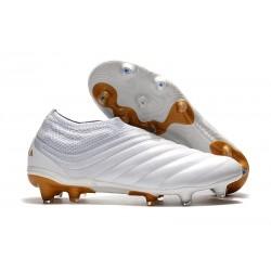Scarpe calcio adidas Copa 19+ FG - Bianco Oro