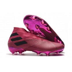 Adidas Nemeziz 19+ FG Scarpe da Calcio - Rosa Nero