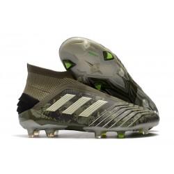 adidas Predator 19+ FG Scarpe Uomo Verde Legacy Sabbia