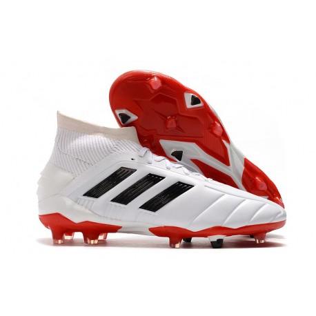 Scarpe da Calcio Adidas Predator 19.1 FG Bianco