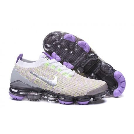 Nike Air Vapormax Flyknit 3 Sneakers Basse - Viola Metallico
