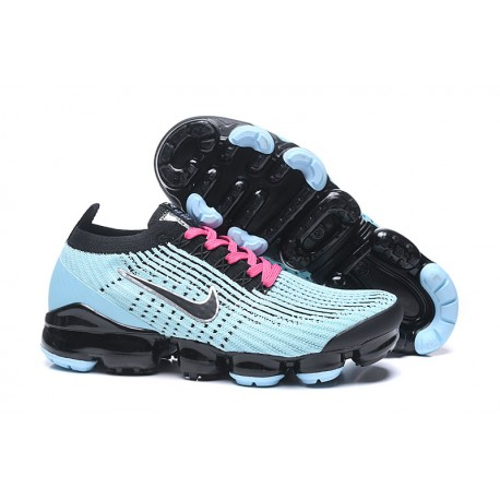 Nike Air Vapormax Flyknit 3 Sneakers Basse - Blu Nero