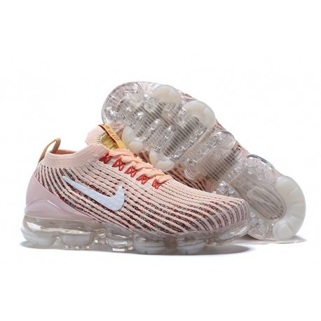 Nike Air Vapormax Flyknit 3 Sneakers Basse da Donna- Rosa